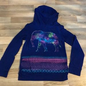 Unique girls elephant long sleeve